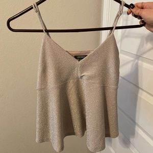 Sparkly tank top/shirt